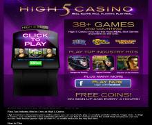 High5Casino Promo Codes