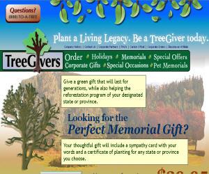 TreeGivers Discount Coupons