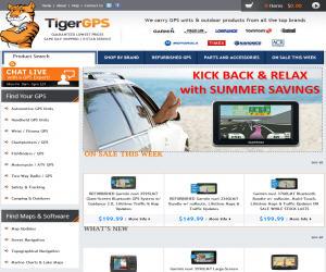TigerGPS Discount Coupons