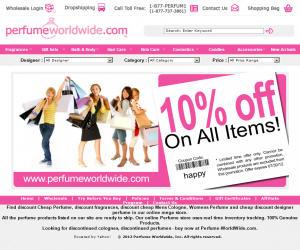 Perfume Worldwide Discount Coupons