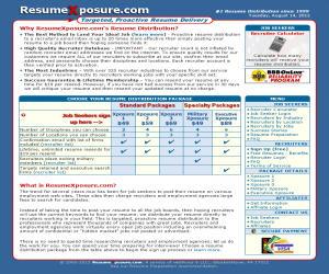 ResumeXposure Discount Coupons