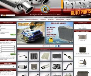 Genesis Auto Parts Discount Coupons