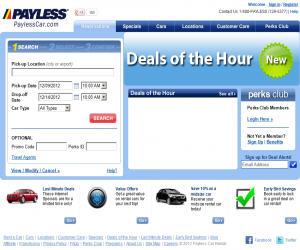 PaylessCar Discount Coupons