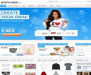 Shirtinator UK Discount Coupons