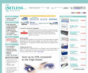 Netlens UK Discount Coupons