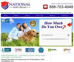 National Debt Relief Discount Coupons