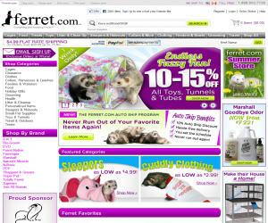 Ferret.com Discount Coupons