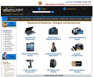 eBatts Discount Coupons