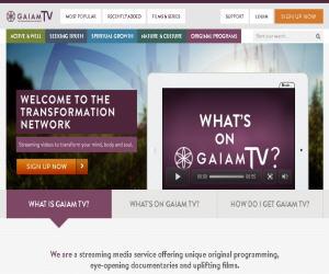 GaiamTV Discount Coupons