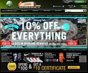 LacrosseMonkey Discount Coupons