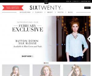 Shop Six Twenty Discount Coupons