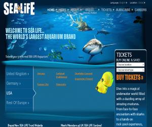 Visit SeaLife Discount Coupons