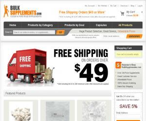 BulkSupplements Discount Coupons
