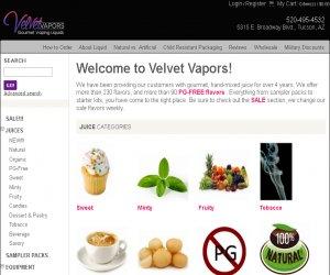 Velvet Vapors Discount Coupons