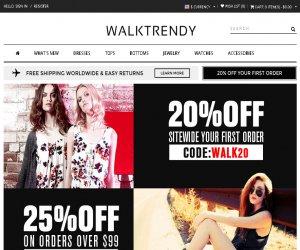 WalkTrendy Discount Coupons