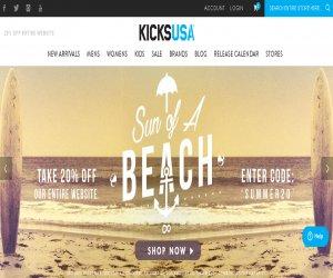 Kicks USA Discount Coupons
