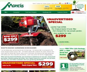 Mantis Discount Coupons