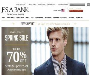Jos. A. Bank Discount Coupons