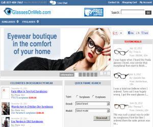 GlassesOnWeb Discount Coupons