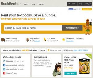 BookRenter Discount Coupons