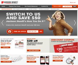Jackson hewitt discount coupons