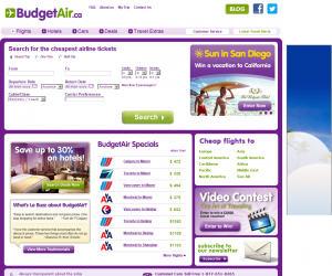 BudgetAir Discount Coupons