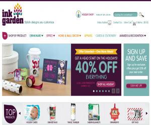 Ink Garden Discount Coupons